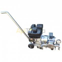 Moto Petrol Pump for feed, MOTOBOMBA 60 - with gasoline engine, ideal for feed supply (full list below), with the possibility of