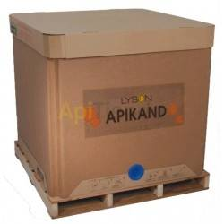 APIKAND Cube 1300 KG, Apikand - full bee feed/syrup Ingredients: Fruits - 41% Glucose - 43% Maltese - 11% Triosis - 0.3% Water -