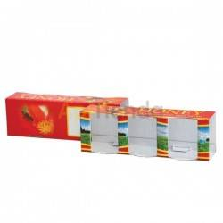 Decorative box for 3 50g (35ml) boats, pack 10 pcs