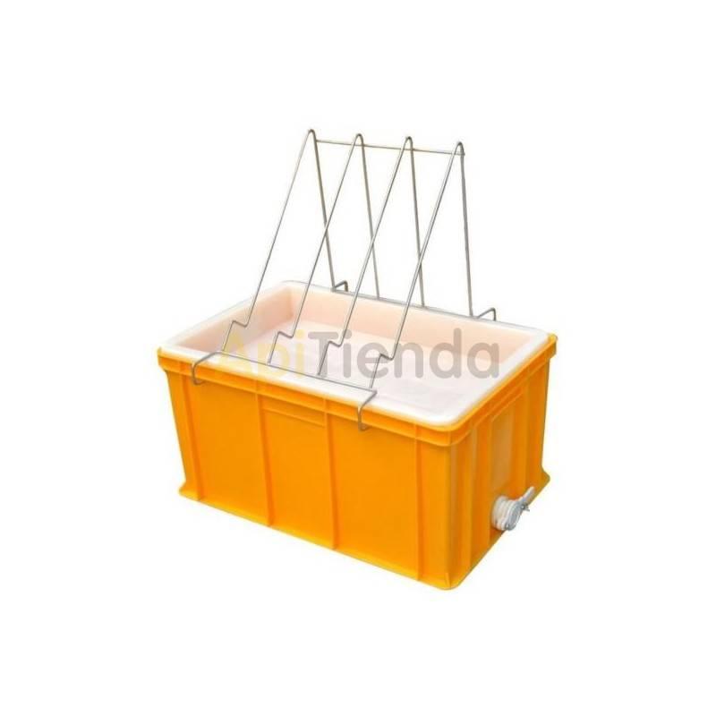 Cubetas Cubeta desopercular plástico 300mm FP Ventajas :- Fabricado en plástico homologado para el contacto con alimentos.- Incl