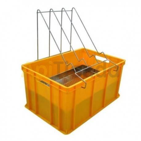 Cubetas Cubeta desopercular plástico 300mm FA Ventajas : - Fabricado en plástico homologado para el contacto con alimentos. -