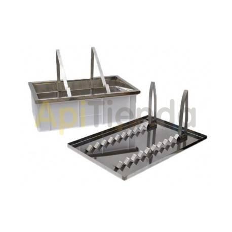 Cubetas Kit banco para desopercular Kit banco para desopercular Con atril universal de acero inox. Incluido Tapa con soporte p