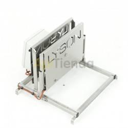 Maquinaria Desoperculadora manual sin cubeta Desoperculadora manual sin cubetaDesoperculadora manual vertical es uno de los disp