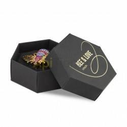 Belleza Broche - zángano obediente Este broche es una perfecta inspiración de un zángano hecha joya. Destaca por si sencillez y
