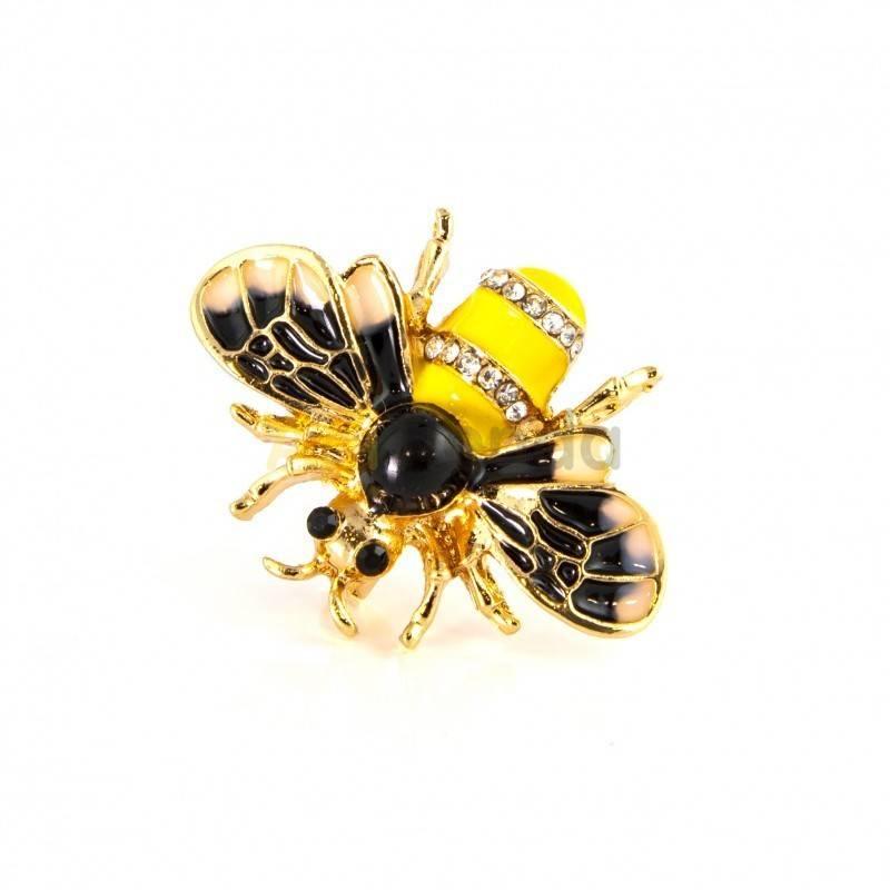 Belleza Broche - mi primer vuelo Este broche es una perfecta inspiración de una abeja hecha joya. Destaca por si sencillez y re