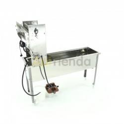 Maquinaria Desoperculadora semiautomatica cuchillas calefactables, generador de vapor, Minima Desoperculadora automática, con gu