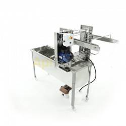 Maquinaria Desoperculadora automática cuchillas calefactables, generador de vapor - Minima Desoperculadora automática, suministr
