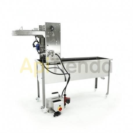Maquinaria Desoperculadora automatica, cuchillas calefactables, circuito cerrado, Minima Desoperculadora automática, (suministro