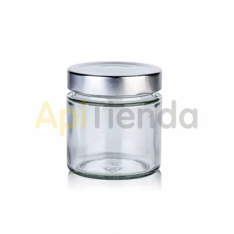 Envases Bote de cristal 212 ml, boca alta, sin tapa (PACK 12ud)  Envase de cristal  Capacidad: 212 ml/  Peso: 145 gr  Diame