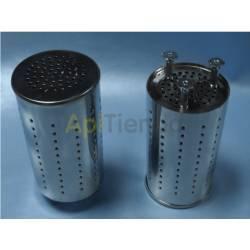 Ahumadores Protección Antichispas Ahumador Grande Protección Antichispas Ahumador Fabricado en acero inoxidable. Medidas: 19 c