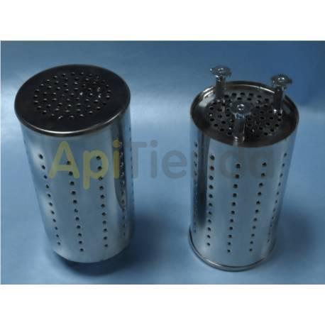 Ahumadores Protección Antichispas Ahumador Protección Antichispas Ahumador Fabricado en acero inoxidable. Medidas: 19 cm alto;