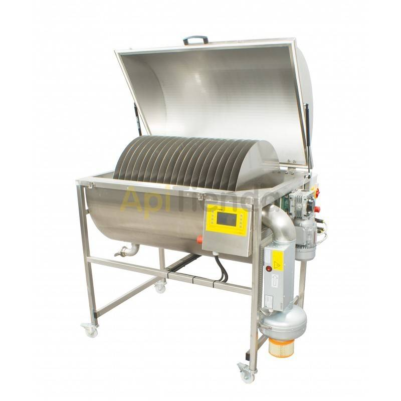 Maquinaria Deshidratador de miel 150kg (aprox. 110L) Está diseñado para vaporizar el líquido de la miel. Agua que se forma parte