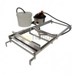 Desoperculadoras Desoperculadora manual cuchilla a vapor Dadant/Langstroth Desoperculadora manual con cuchillas calefactadas por