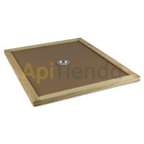 Colmenas de madera Entretapa Langstroth/Dadant Dominguez Entretapa fabricada en tablex con marco de madera Cuenta con un taladr