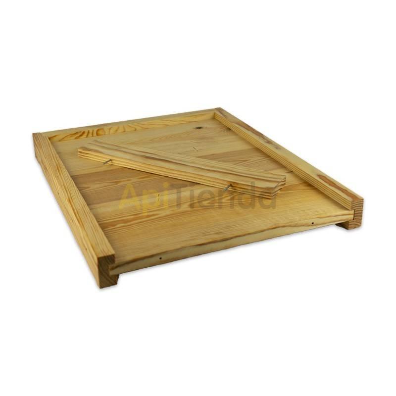 Fondo de madera, colmena Langstroth/Dadant