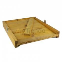 Colmenas de madera Fondo de madera colmena Langstroth/Dadant Dominguez Fondo de madera de alta calidad, para colmenas Langstroth