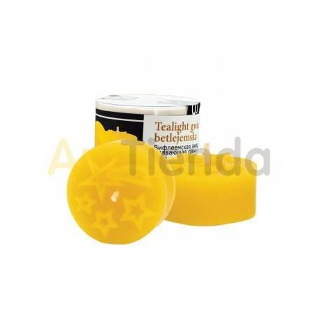 Moldes Molde estrella de Belen Molde de silicona para elaborar las velas de cera de abeja Peso de la silicona: 0,05 kgEl peso d