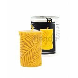 Moldes Molde hojas tropicales Molde de silicona para elaborar las velas de cera de abeja Peso de la silicona: 0,42 kgEl peso de
