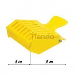 Reinas Jaula Pinza plástico El apicultor necesita este dispositivo para capturar y transportar a la reina de forma rápida y segu