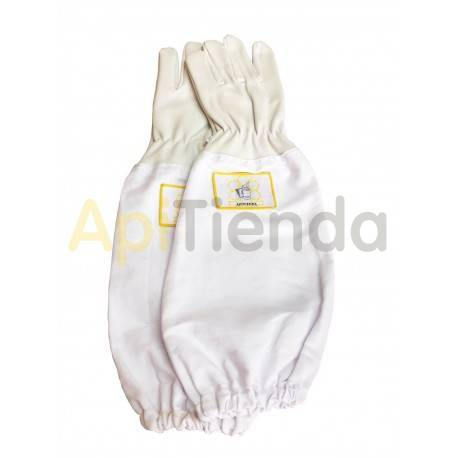 Ofertas Guantes de piel Guantes de cuero de alta calidad, con manguitos de algodón. Muy resistentes. Gran comodidad y ergonomía