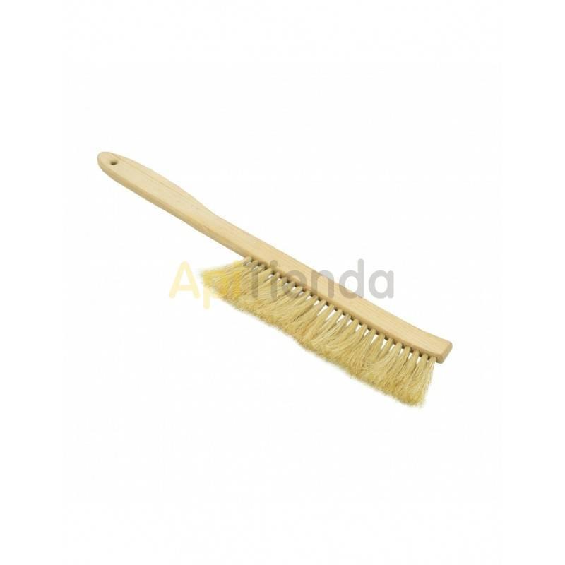 Espátulas, cepillos y levantacuadros Cepillo largo de cerda natural con mango de madera Los cepillos son una herramienta indispe