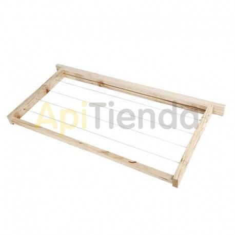 Accesorios y cuadros Cuadro Langstroth recto Cuadros para colmenas Perfección o Langstroth rectos  Fabricados en madera y alamb