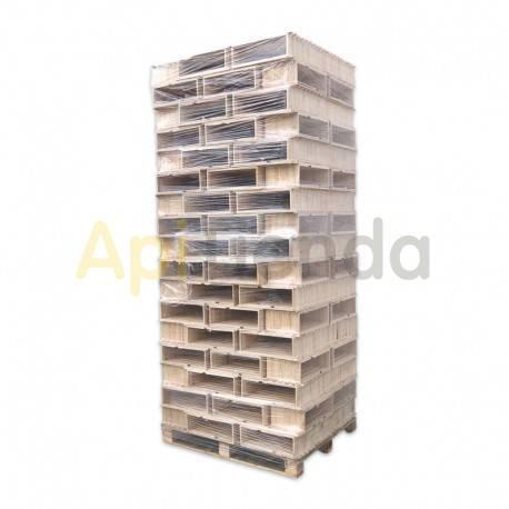 Accesorios y cuadros Cuadros media alza alt 16 cm - Palet (1200 uds) ApiTienda Palet de cuadros 1200 uds Formato: alza Dadant o