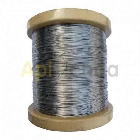 Colmenar Alambre acero inox. 0,5mm 2kg  Rollo de alambre inoxidable especial para uso en apicultura.Es ideal para poner en los