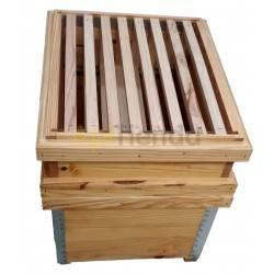 Colmenas de madera Colmena Dadant Trashumante Completa Colmena Dadant Transhumante Completa Fabricada en madera de pino calidad