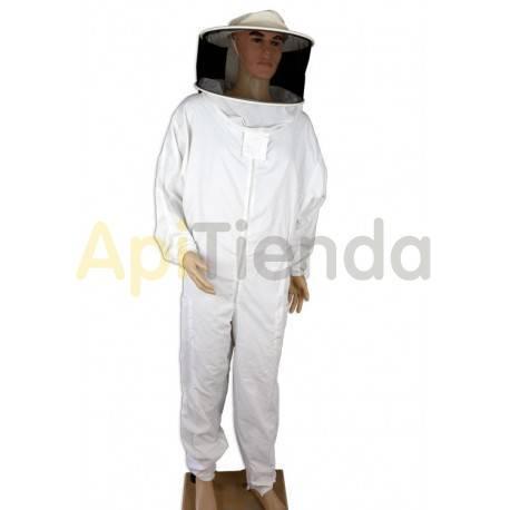 Vestuario Buzo apicultor nylon con careta redonda Traje completo de apicultor con careta redonda desmontable. Fácil para limpiar
