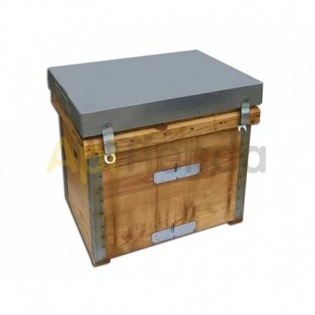 Colmenas de madera Colmena Layens Dominguez 10 cuadros abiertos Colmenas Layens de alta calidad del fabricante Industrias Doming