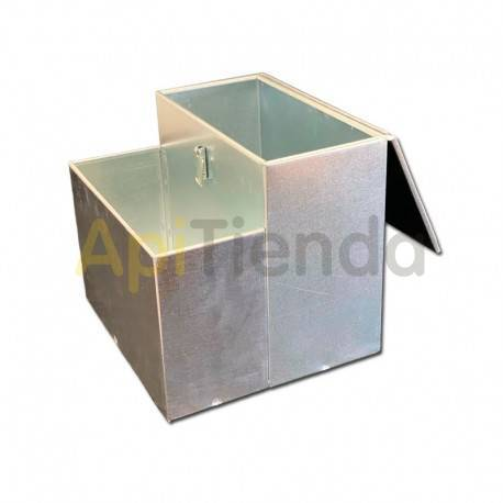 Ahumadores Caja ahumador ApiBox doble pequeña Una solucion más comoda de transportar tu ahumador, fabricado en acero galvanizado