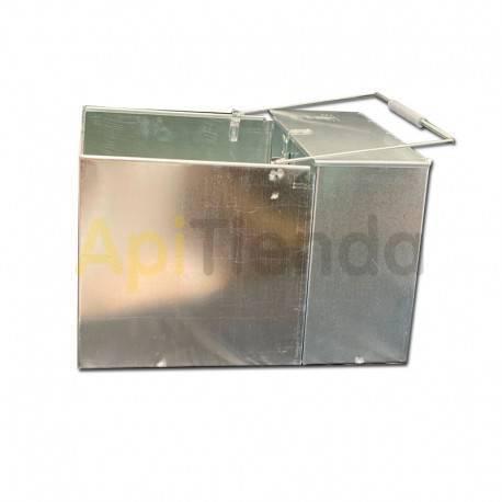 Ahumadores Caja ahumador ApiBox doble grande Una solucion más comoda de transportar tu ahumador, fabricado en acero galvanizado