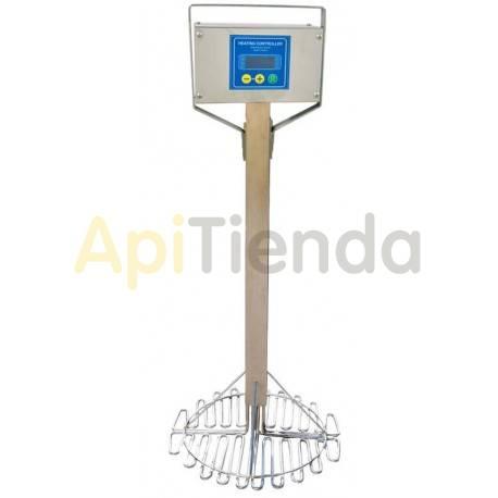 Resistencias y cámaras calientes Resistencia eléctrica Ø500mm  Alimentación 220V Potencia 4×375W Medidas Ø500mm×1100mm Termo