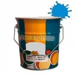 Colmenar Pintura esmalte para colmenas - Azul 4L Esmalte sintético de alta calidad a partir de resinas alquídicas sería especial