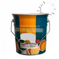 Colmenar Pintura esmalte para colmenas - Blanco 4L Esmalte sintético de alta calidad a partir de resinas alquídicas sería especi
