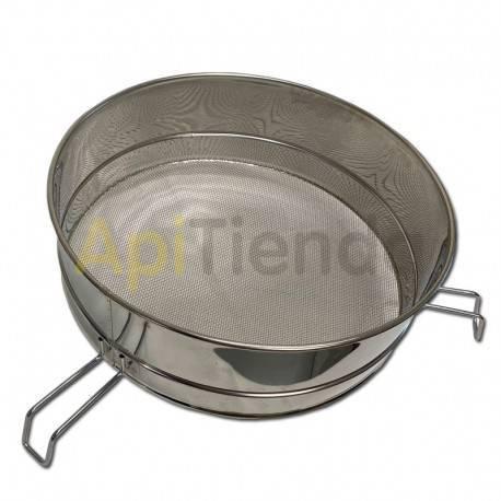 Material  Filtro acero inoxidable 44 cm red gruesa Filtro acero inoxidable 44 cm red fina