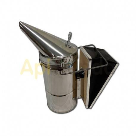 Ahumadores Ahumador chapa XXL MS Ahumador fabricado en acero inoxidable. Con protector antichispas en la tapa. Con doble depos