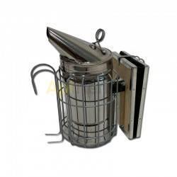 Ahumadores Ahumador inox con protección alt. 24,5cm  Ahumador con protección Fabricado en acero inoxidable con rejilla de prot