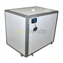 Resistencias y cámaras calientes Camara caliente para un palé 120x120cm 4 bidones Cámara caliente diseñada para descristalizar l