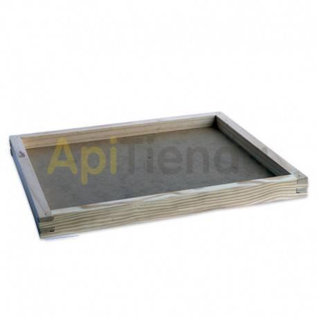 Colmenas de madera Entretapa alta Las entretapas altas están pensadas para facilitar la introducción del alimento a la colmena,