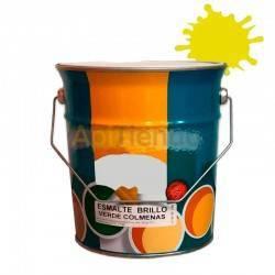 Colmenar Pintura esmalte para colmenas - Amarillo 4L Esmalte sintético de alta calidad a partir de resinas alquídicas sería espe