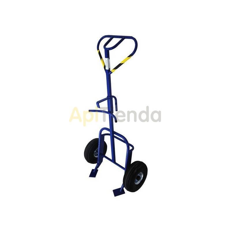 Transporte de colmenas y miel Carro bidones mod. 5 Carro para bidones Carga 350kg