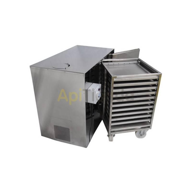 Secaderos y limpiadoras de polen Secadero de polen 30kg Secadero de polen, capacidad 30kg (10 cajones) Fabricado en acero inox.