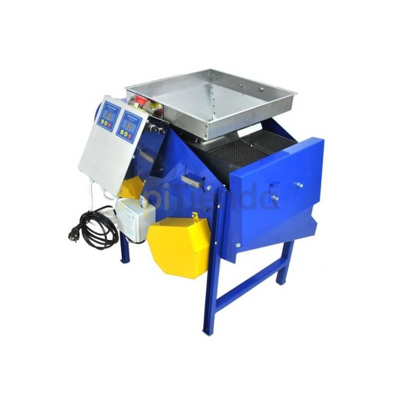 Secaderos y limpiadoras de polen Limpiadora de polen Limpiadora de polen. Motor 250W, Alimentación 220V Dimensiones de máquina
