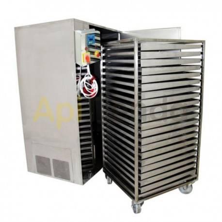 Secaderos y limpiadoras de polen Secadero de polen 100kg Secadero de polen, capacidad 100kg (20 cajones) Fabricado en acero ino