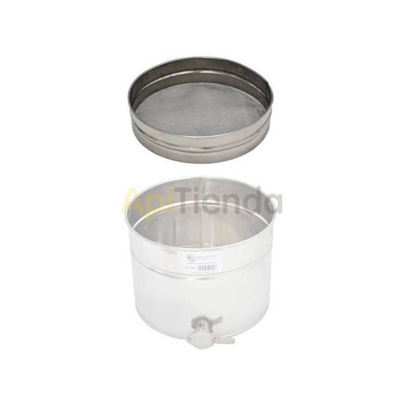 Maduradores y cubos  Filtro madurador 200 L Filtro adaptable a maduradores de 200 L Fabricado en acero inoxidable Fácil de de