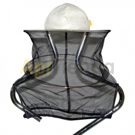 Caretas y accesorios Careta redonda con gomas 【Material de alta calidad】Color: blanco Tejido: Mezcla de algodón poliéster; Peso