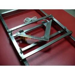 Desoperculadoras Desoperculadora manual  acero inox. 12V Desoperculadora manual fabricada en acero inoxidable y concuchillas ca