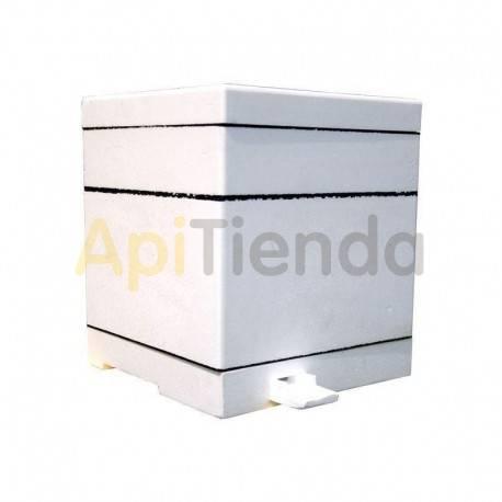Núcleos Mini-núcleo de dos compartimentos Mini-núcleo de dos compartimentos Fabricado en poliestireno de alta calidad Está for